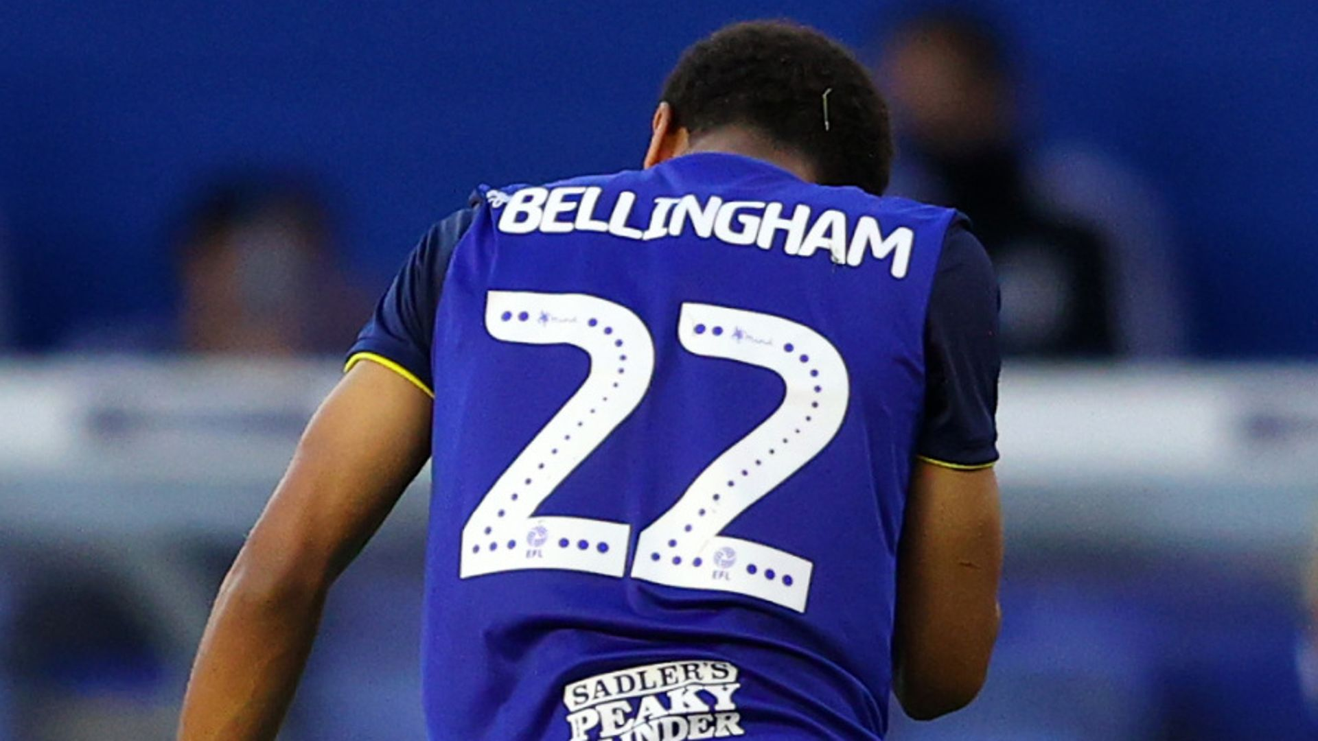 Birmingham retire Bellingham's No 22 shirt