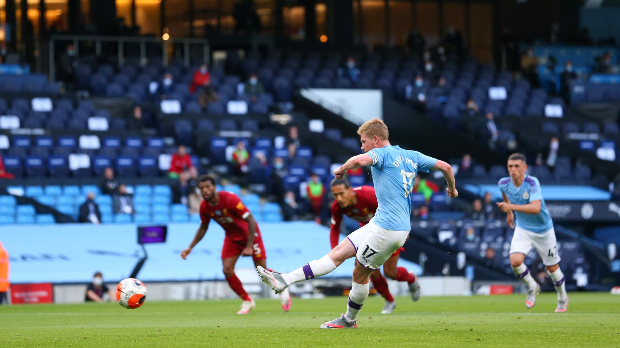 Kevin De Bruyne was the star as Manchester City thrashed Liverpool ...