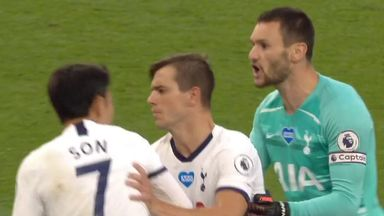 Lloris and Son in furious Tottenham bust-up