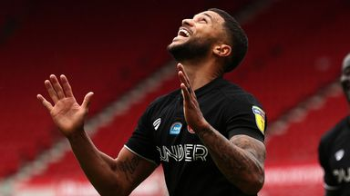 Nahki Wells scored twice for Bristol City at Middlesbrough