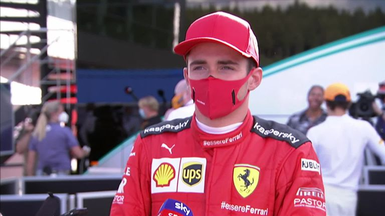 Charles Leclerc reflected on an astonishing race, he was left extremely happy after finishing his race second during the Austrian GP