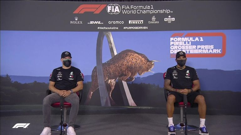 Mercedes drivers Lewis Hamilton and Valtteri Bottas have spoken ahead of this weekend's second Formula One race in Austria.