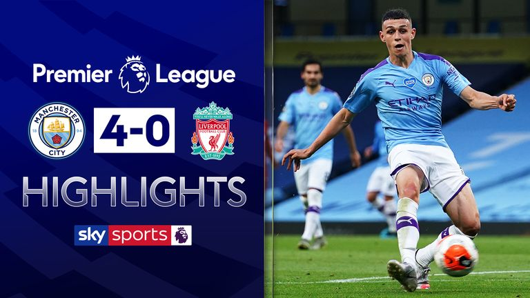 FREE TO WATCH: Highlights from Manchester City's win against Liverpool in the Premier League