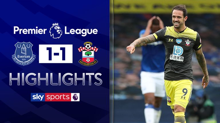 FREE TO WATCH: Highlights from Everton's draw against Southampton in the Premier League
