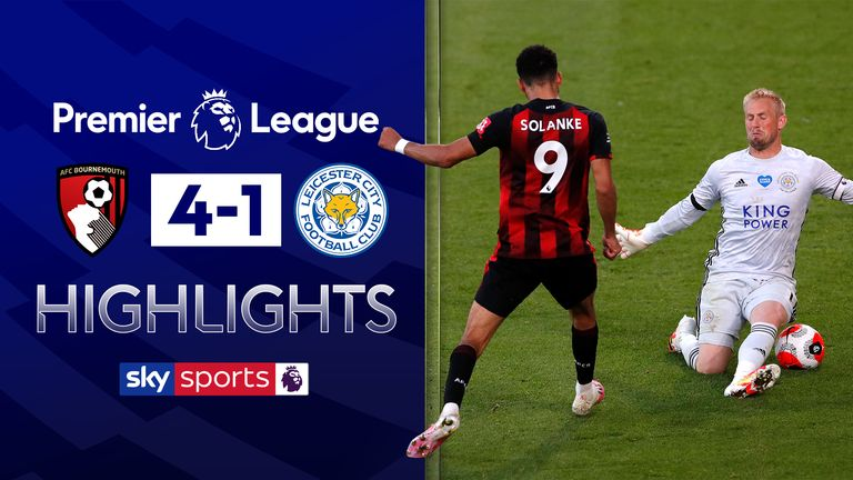 FREE TO WATCH: Highlights from Bournemouth's win over Leicester