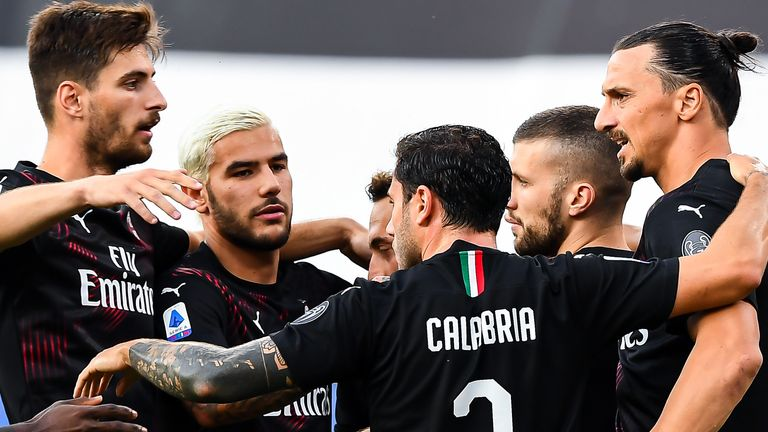 AC Milan have been impressive since the football restart
