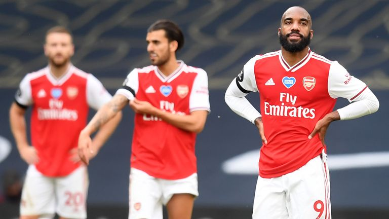 Arsenal lost at Spurs despite taking the lead through Alexandre Lacazette