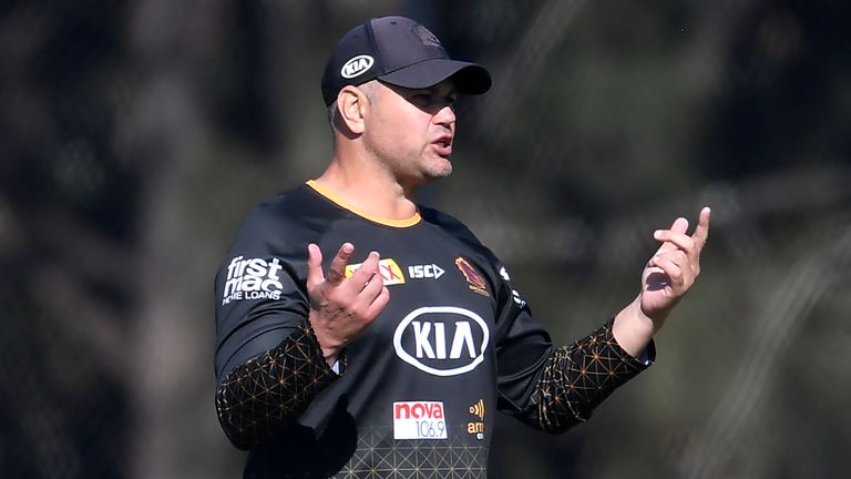 Anthony Seibold has taken time off from coaching the Broncos