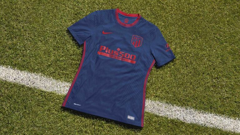 Atletico Madrid's 2020/21 away kit is made by Nike