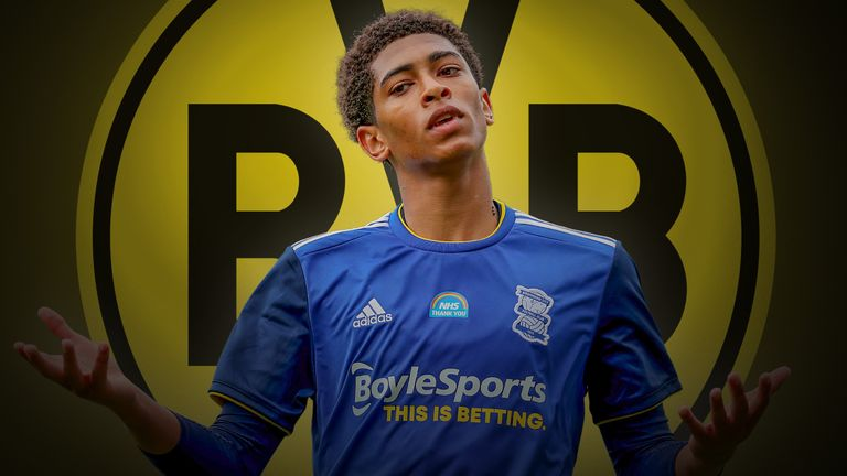 Birmingham's Jude Bellingham is expected to leave England for Germany by joining Borussia Dortmund