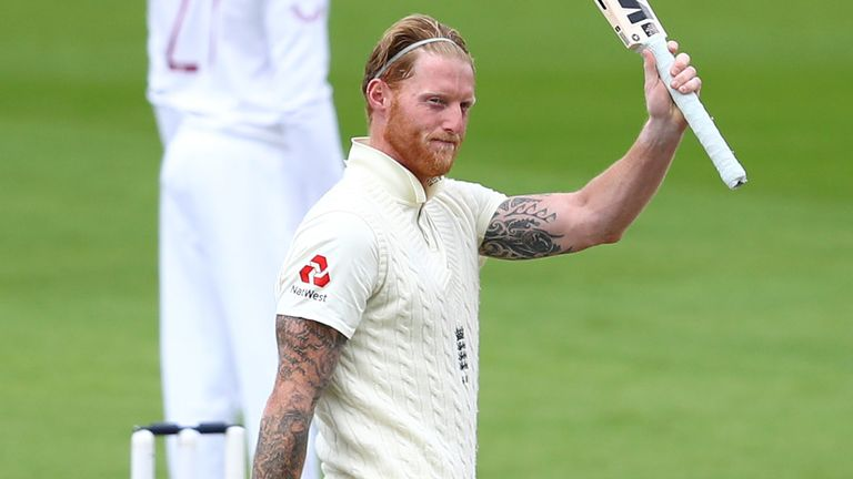 The best moments from Stokes' innings of 176 in England's second #raisethebat Test match against West Indies at Emirates Old Trafford