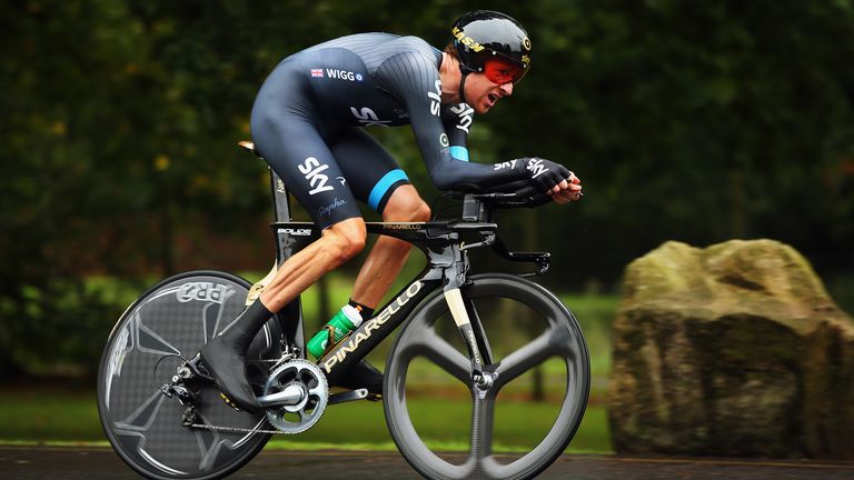 Bradley Wiggins won the 2013 Tour of Britain as part of Team Sky