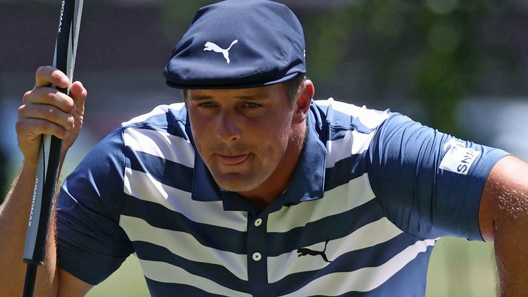 DeChambeau is back in action this week at the Memorial Tournament, live on Sky Sports