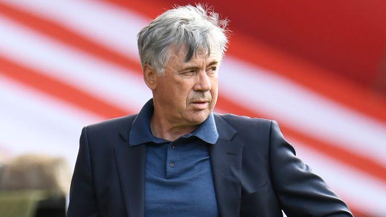 El gerente del Everton, Ancelotti, está mirando hacia una fuerte campaña 2020/21