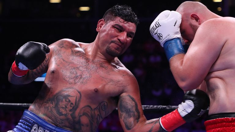 Arreola produced a record-breaking performance against Adam Kownacki