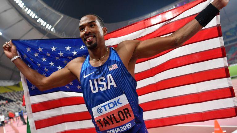 Taylor has criticised World Athletics