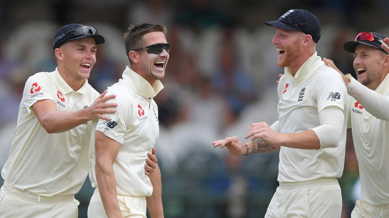 Denly enjoyed some success with the ball during England's winter tour of South Africa