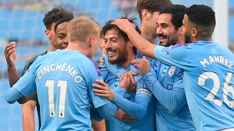 City are heading into a potentially historic period for the club, with a treble up for grabs