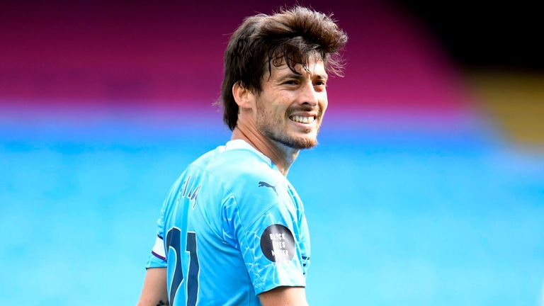 David Silva will leave Man City once their Champions League campaign ends