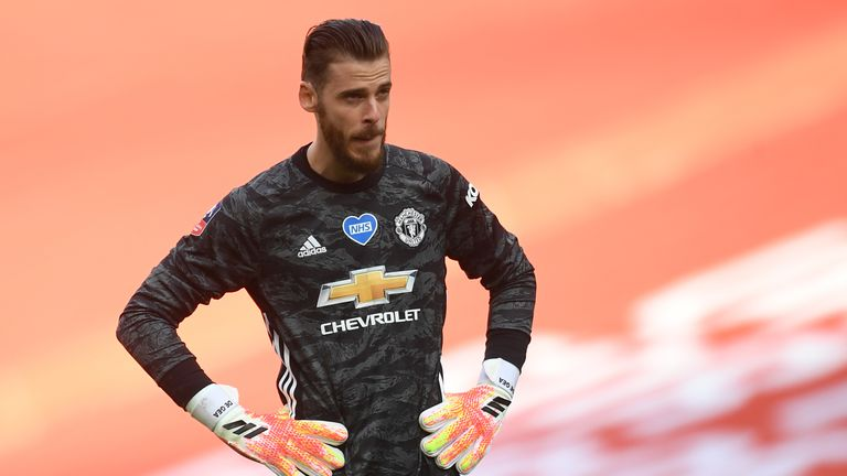 Manchester United goalkeeper David De Gea was at fault for Chelsea's second goal on Sunday