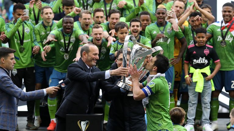 Seattle Sounders won the MLS Cup in November 2019
