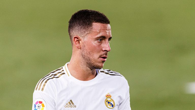 Eden Hazard has found it difficult to replicate his Chelsea form at Real Madrid