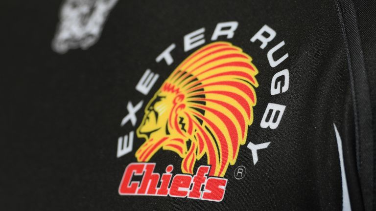 Exeter have decided to keep their 'Chiefs' logo and branding