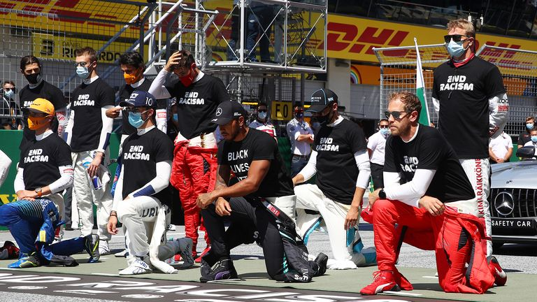 Formula 1's drivers gave their views on why they did or didn't take a knee as a stand against racism prior to the start of the Austrian GP