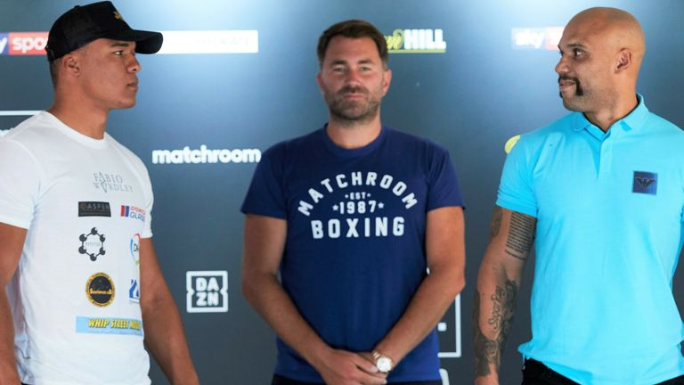 Fabio Wardley faces Vallily in Saturday's 'Fight Camp' live on Sky Sports