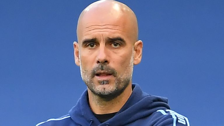 Pep Guardiola hopes Manchester City will be allowed compete in next season's Champions League
