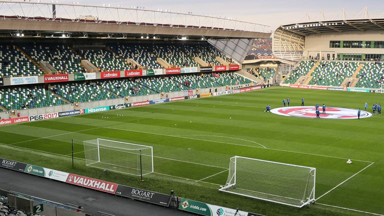 Supporters will be restricted to sitting behind the goals