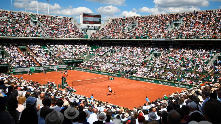 The rearranged French Open will run from September 27 to October 11