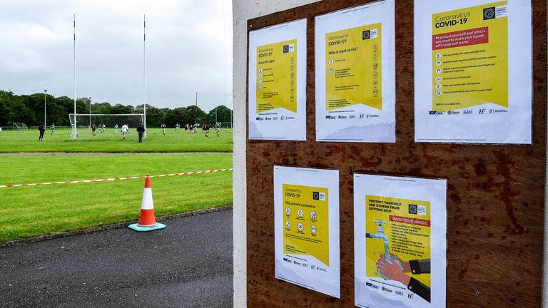 Clubs around Ireland have reopened under strict guidelines in recent weeks