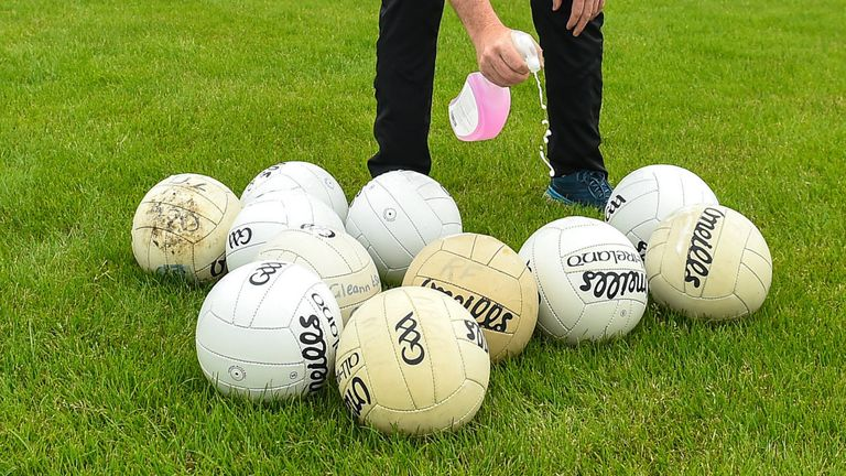 Club GAA training sessions resumed last week after lockdown restrictions were eased