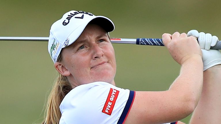 Dryburgh's three-under 69 earned her a one-shot win