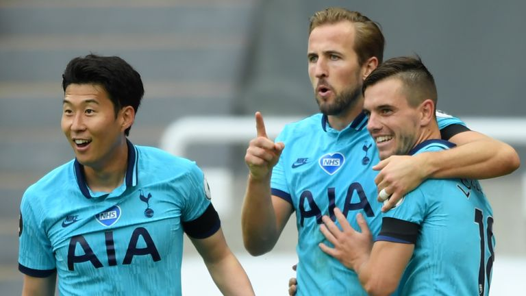 Tottenham have lost just once since the Premier League restarted in June