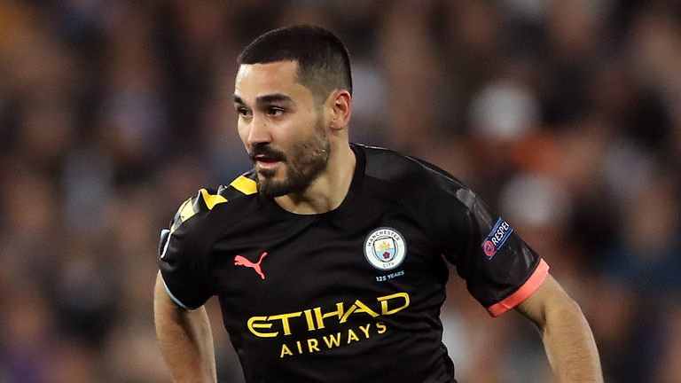 Manchester City's Ilkay Gundogan has spoken about how he found it hard to live alone in a foreign country, especially during lockdown