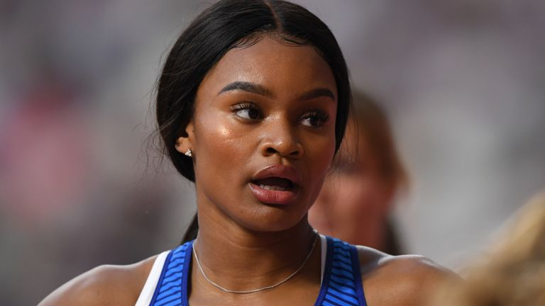 Imani Lansiquot reached the semi-finals in the 100m at the World Championships in Doha last year