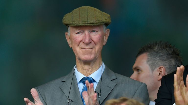 Jack Charlton was part of England's 1966 World Cup winning team