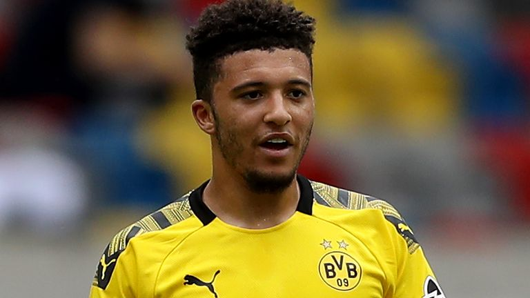 Jadon Sancho está ansioso por regresar a un club en la Premier League