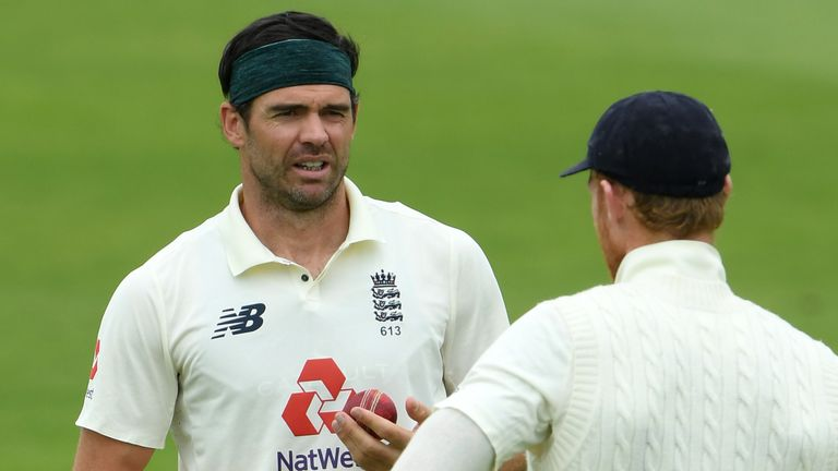 James Anderson will hope he can still find swing despite the ban on using saliva to shine the ball