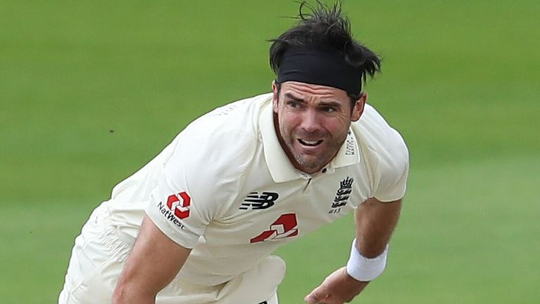 James Anderson is England's leading Test wicket-taker