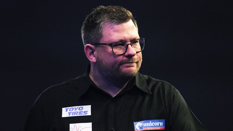 James Wade was in fine form on Day Four of the competition