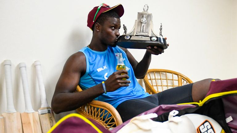 Jason Holder led West Indies to a Test series win over England in the Caribbean in 2019