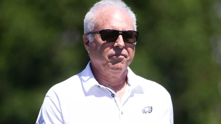 Jackson apologised to Eagles team owner Jeffrey Lurie, who is Jewish
