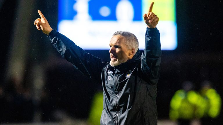 Jim Goodwin will lead St Mirren in the Scottish Premiership this season