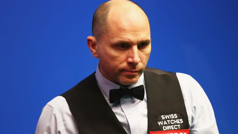 Joe Perry is hoping to make the World Snooker Championship through the qualifying tournament