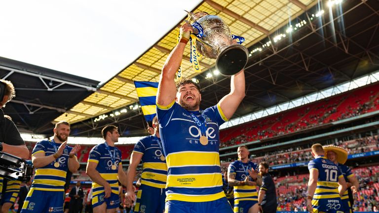 Warrington Wolves are the Challenge Cup holders
