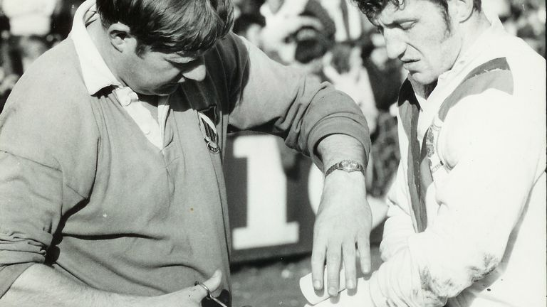 Whiteley's duties on the 1970 Lions tour went beyond just coaching the team