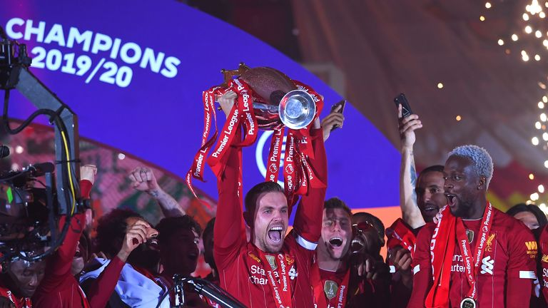 Henderson's contribution to Liverpool's success has been recognised by football writers across the country